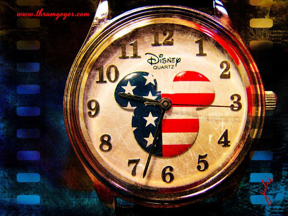 PA7c-0104 Mickey Watch